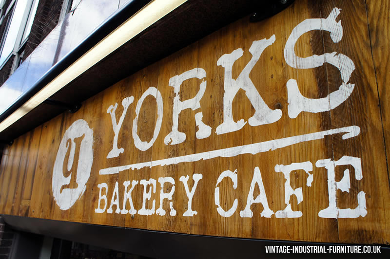 Yorks Bakery Cafe Vintage Furniture