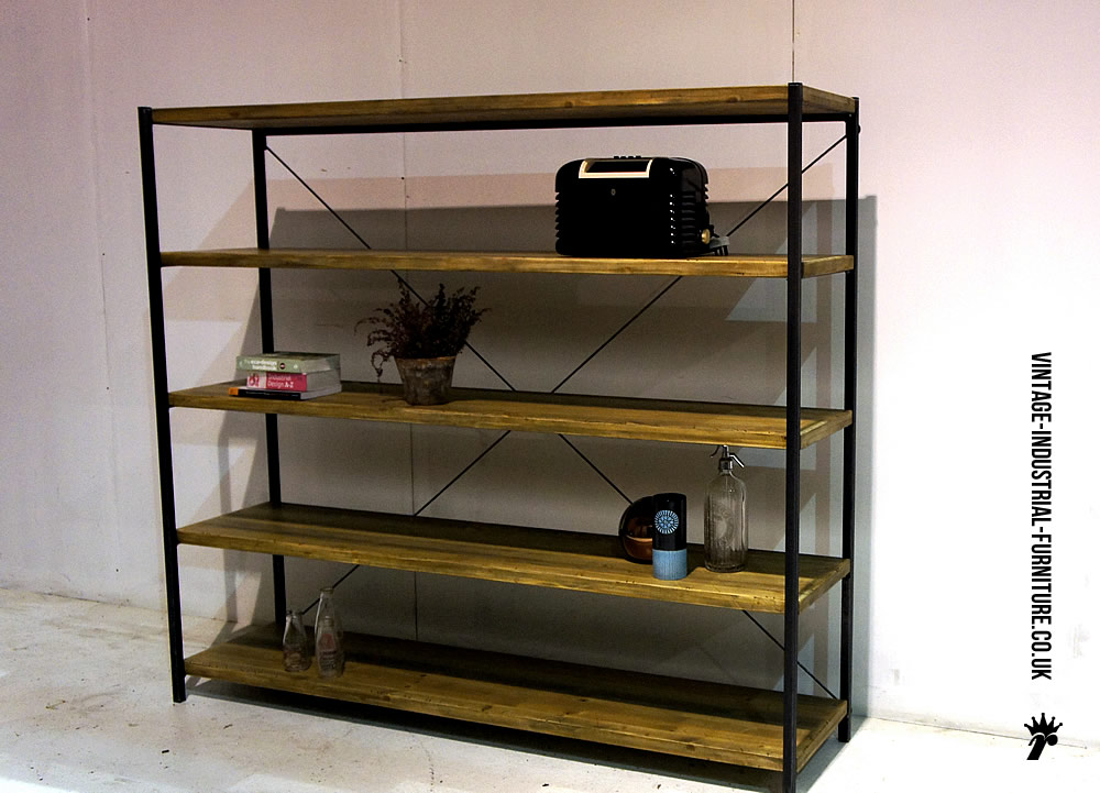 Magnificent Vintage Industrial Shelving Units 1000 x 721 · 131 kB · jpeg