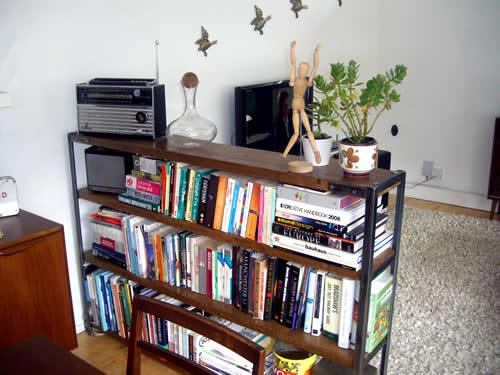 Vintage Book Shelves
