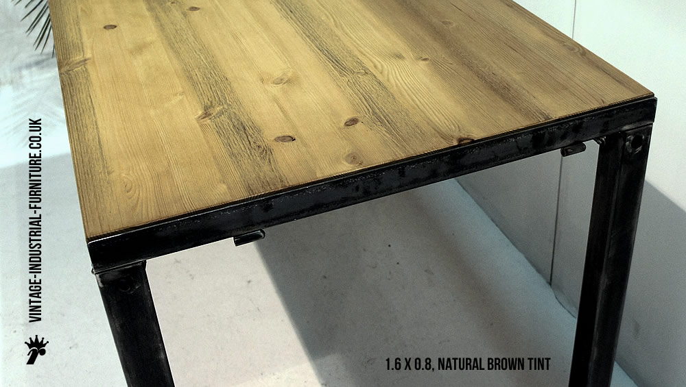 Brilliant Vintage Industrial Dining Table 1000 x 565 · 122 kB · jpeg