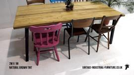 Vintage Industrial Dining Table