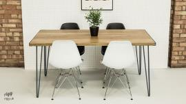 Hairpin Leg Dining Table