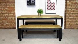 Refectory Table and Bench Set