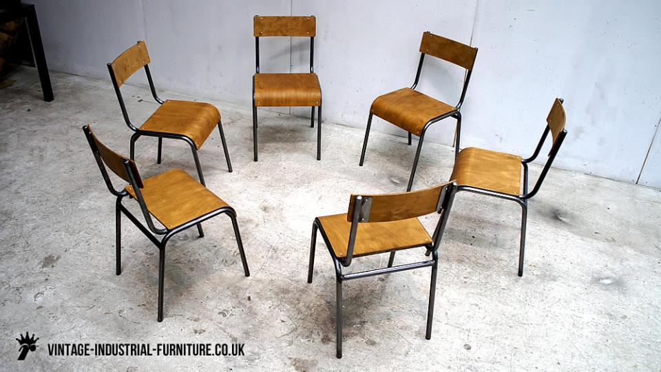 Old Industrial Chairs
