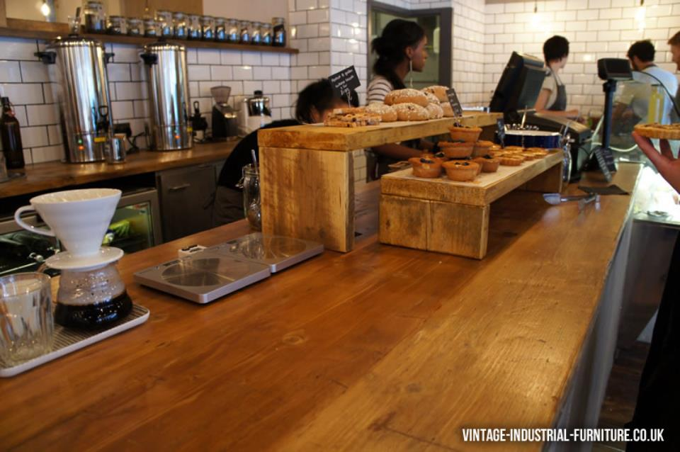 Rustic Countertop in Yorks Bakery Cafe