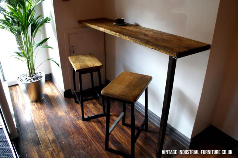 Vintage Industrial Breakfast Bar