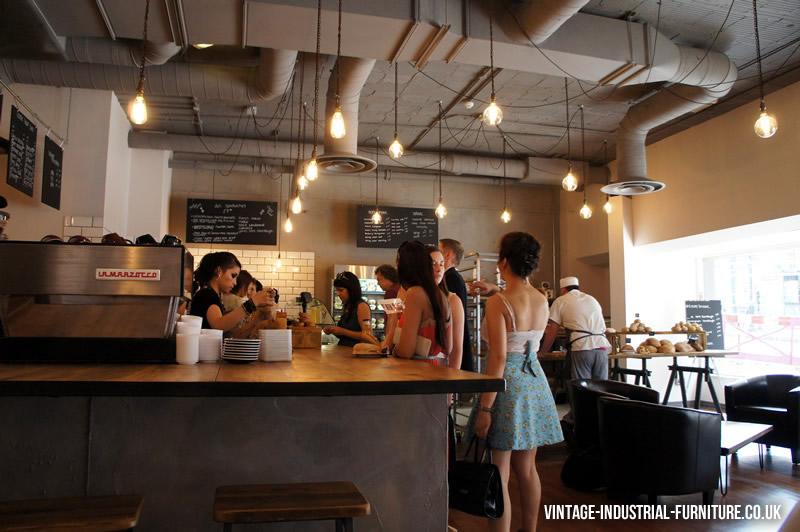 Yorks Bakery Cafe Vintage Furniture