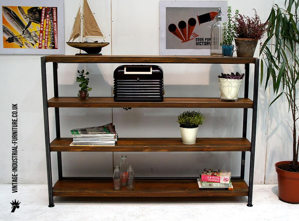 Flat Pack Vintage Shelves