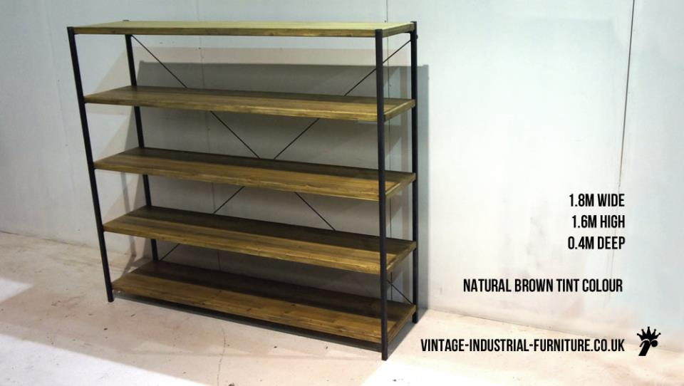 Large Rustic Shelves