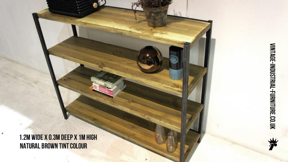 Vintage Metal Shelves