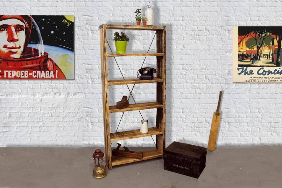 Vintage Rustic Shelves