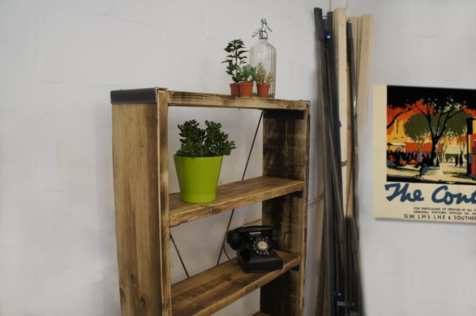 Vintage Wooden Shelves
