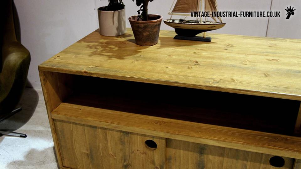 Large Industrial Sideboard