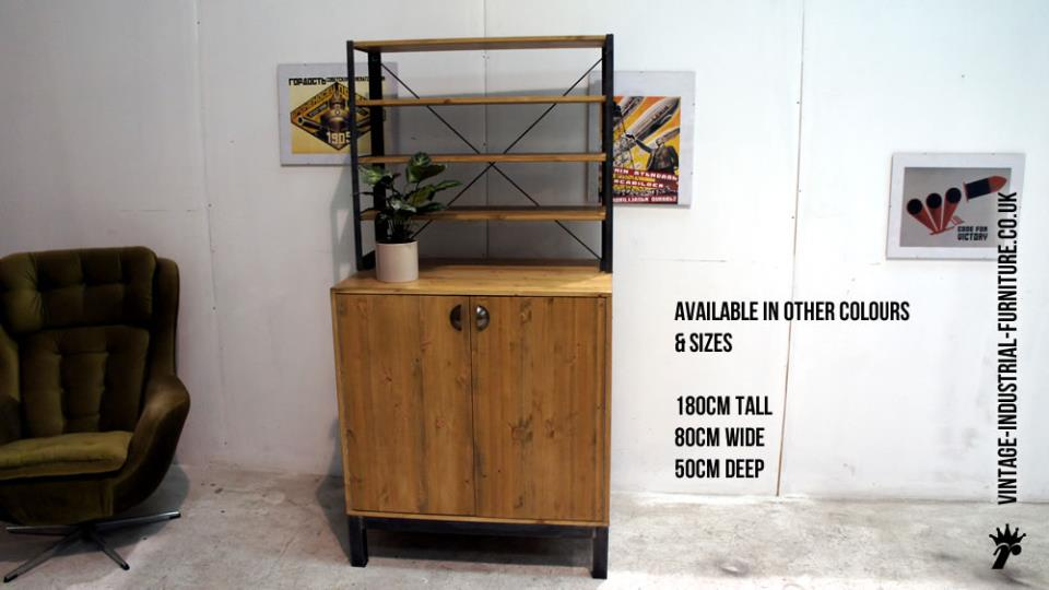 Vintage Industrial Cabinets for Sale