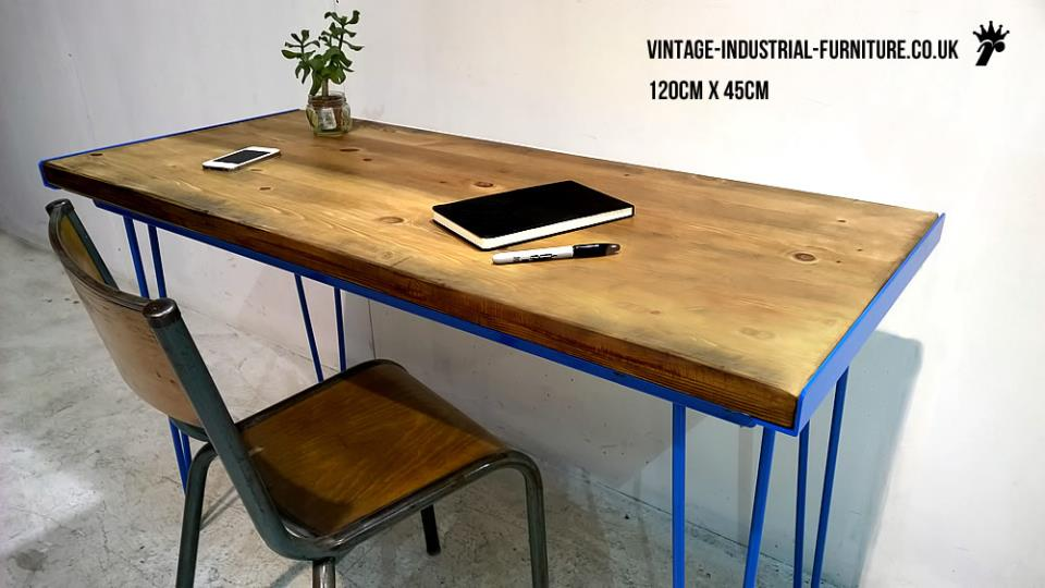 Coloured Hairpin Desk