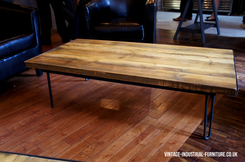 hairpin coffee table. Black Bedroom Furniture Sets. Home Design Ideas