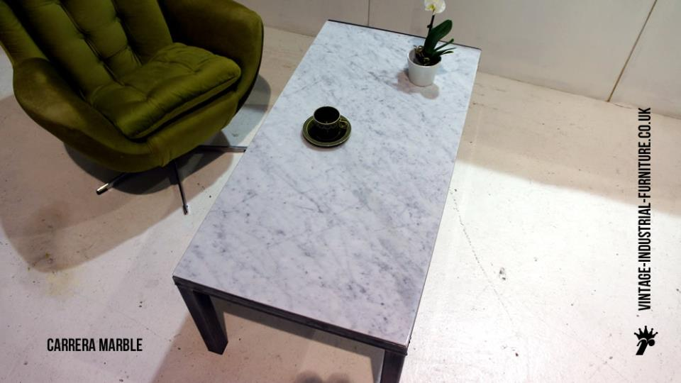 Carrera Marble Coffee Table