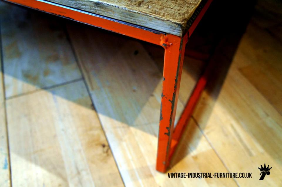 Industrial Painted Coffee Table