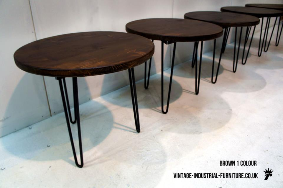 Round Hairpin Table