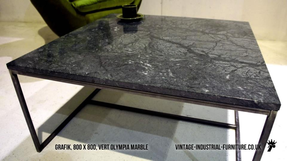 Vert Olympia Marble Coffee Table
