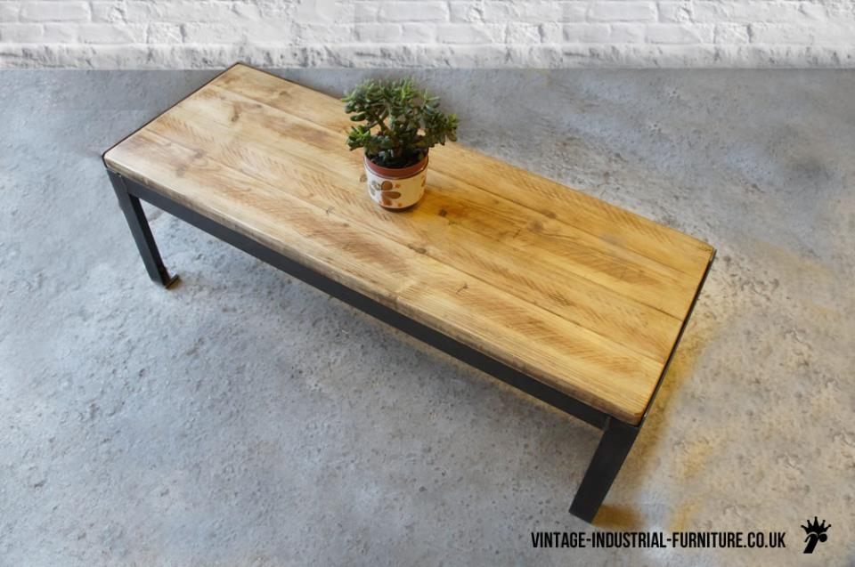 Vintage Rectangular Coffee Table