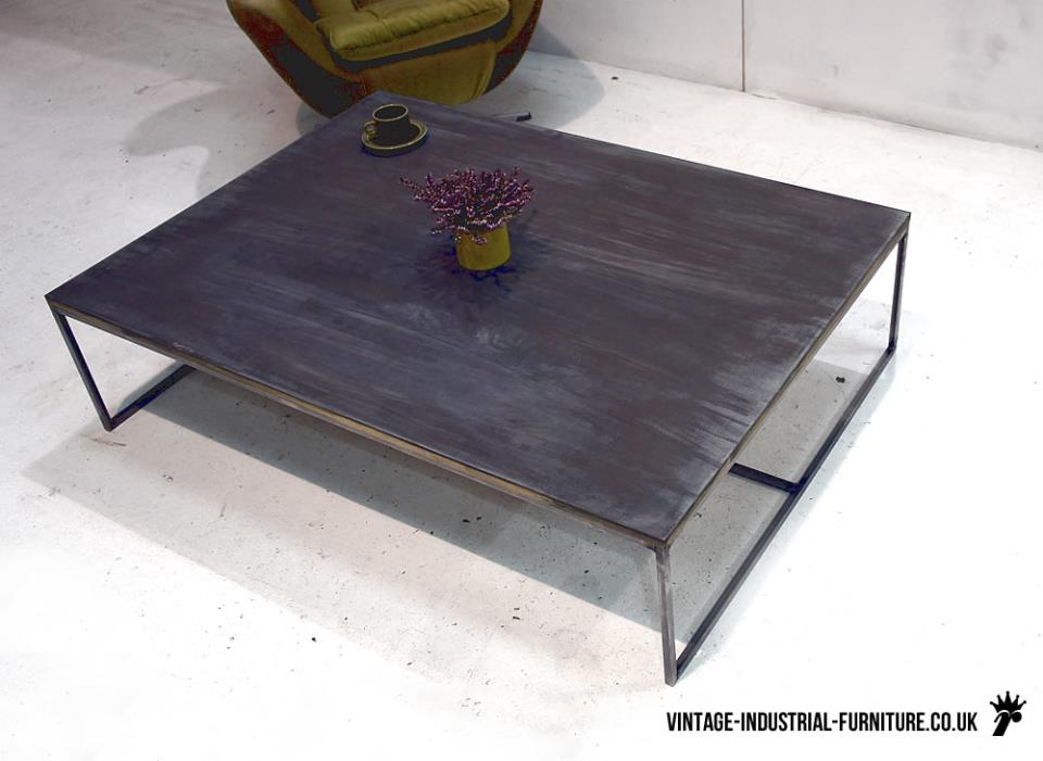 Vintage Zinc Coffee Table
