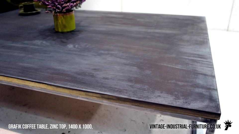 Zinc Grafik Coffee Table