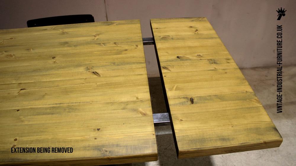 Industrial Loop Leg Dining Table : extendingdiningtable from vintage-industrial-furniture.co.uk size 1000 x 562 jpeg 87kB