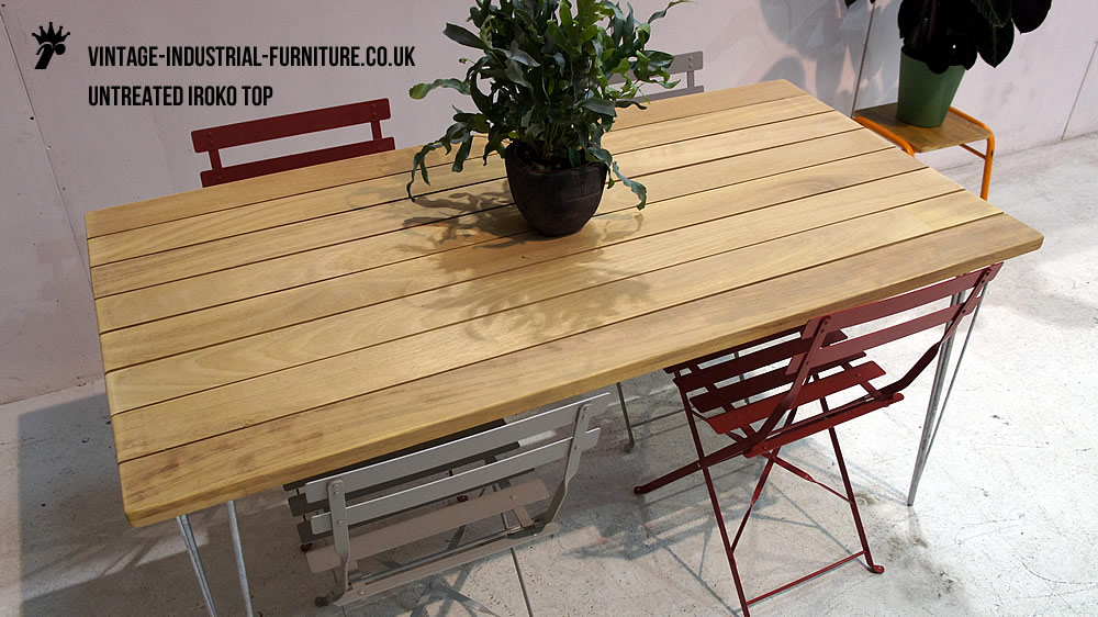 Outdoor Hairpin Table : gardenhairpintable from vintage-industrial-furniture.co.uk size 1000 x 562 jpeg 144kB