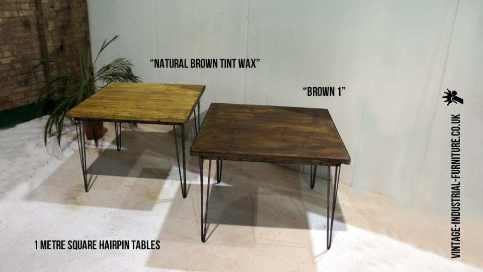 1m Square Dining Table