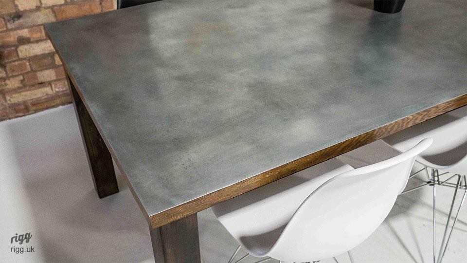 Large Zinc Table