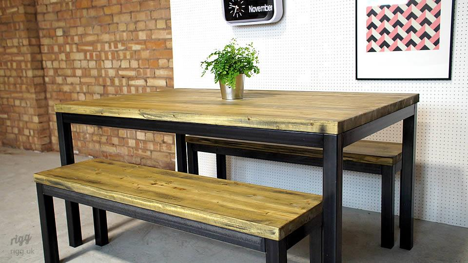 Refectory Table & Bench Set
