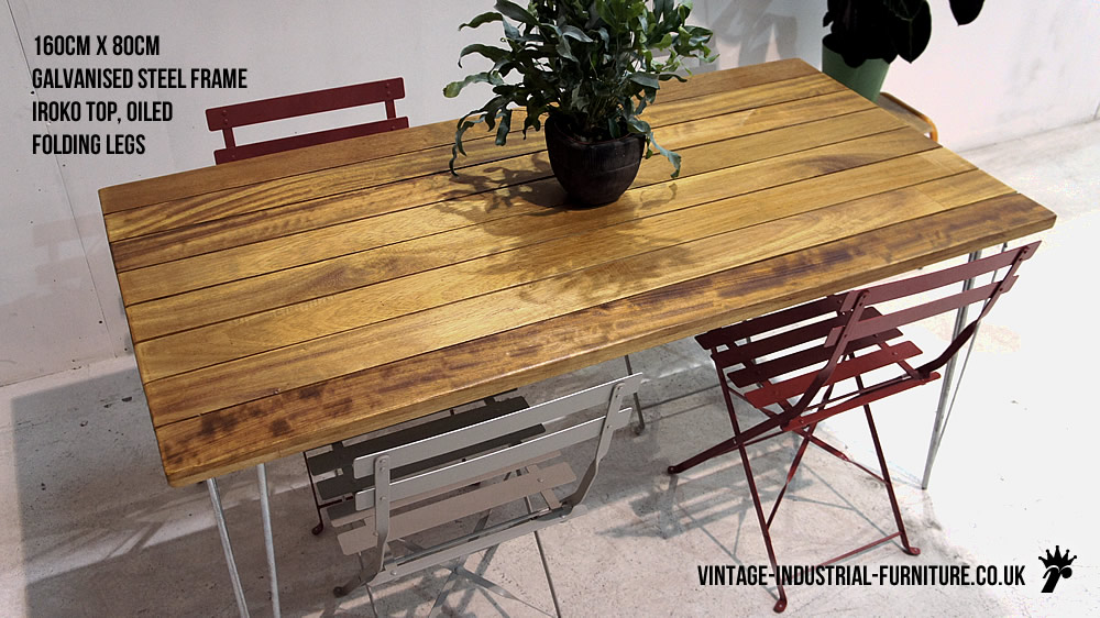 Outdoor Hairpin Table : vintagegardentable from vintage-industrial-furniture.co.uk size 1000 x 562 jpeg 171kB