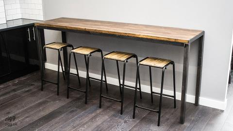 Vintage Industrial High Table