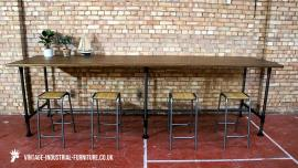 Large Vintage Industrial Table
