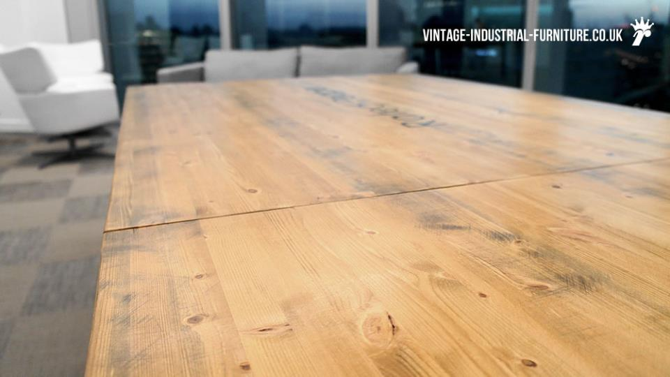 large industrial office table